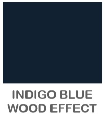 INDIGO BLUE WOOD EFFECT