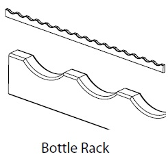 BOTTLE RACK 1500MM