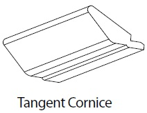 3M TANGENT CORNICE - CARTMEL