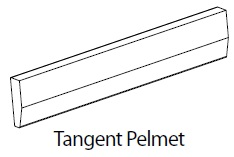 3M TANGENT PELMET - CARTMEL