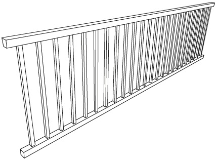 PLATERACK LADDER RAIL - FOUNDATION ASHBURY