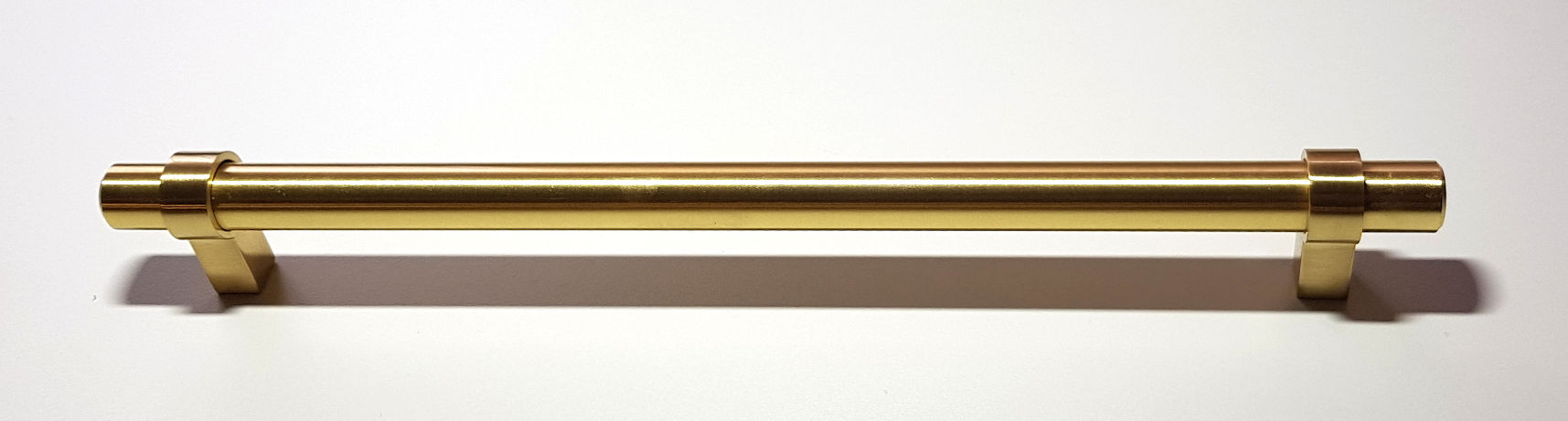BRUSHED BRASS LEGATO HANDLE 265MM (224MM CENTRES)