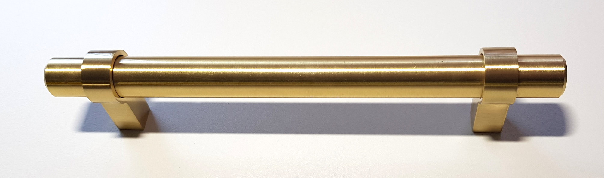 BRUSHED BRASS LEGATO HANDLE 170MM (160MM CENTRES)