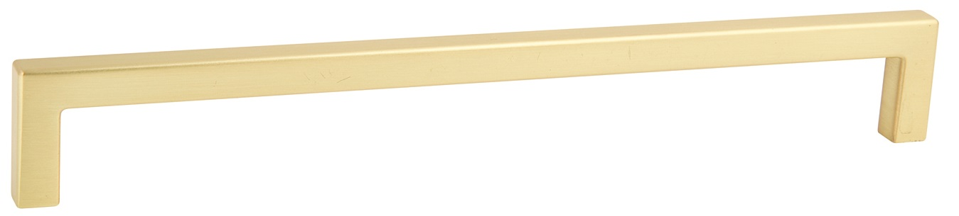BRUSHED BRASS D HANDLE 137MM (128MM CENTRES)