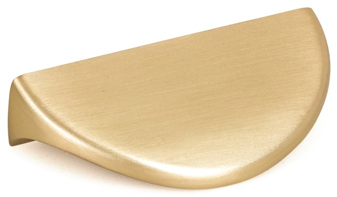 BRASS PULL HANDLE 50MM (32MM CENTRES)