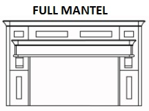 FULL MANTEL  KIT