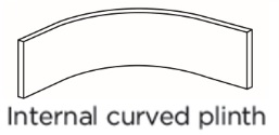 INTERNAL CURVED PLINTH